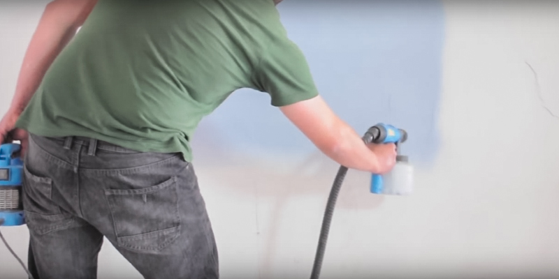 Detailed review of Sitemate SM700 HVLP Electric Fence Spray Gun Paint Sprayer