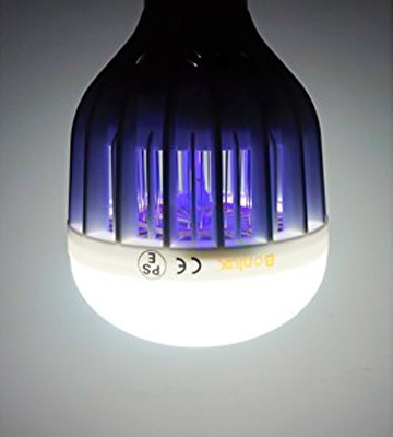 Review of Bonlux Bug Zapper Light Bulb B22 UV LED