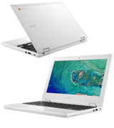 Acer Chromebook 11 (NX.G4XEK.001) 11.6 Notebook (Intel Celeron, 2 GB RAM, 16 GB eMMC)