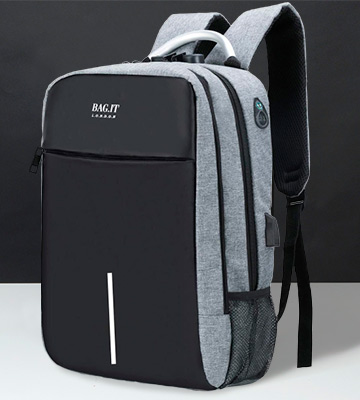 Review of BAG.IT Store London Anti Theft Backpack Laptop Bag