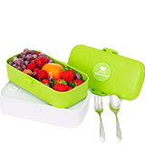 Nifty Kitchen Bento Lunch Box Microwave Safe for Adults & Kids