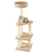 AmazonBasics CT-120-MODEL Cat Activity Tree with Scratching Posts
