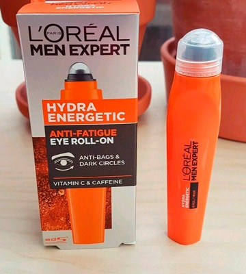 Review of L'Oreal Paris Men Expert Hydra Energetic Eye Roll-On