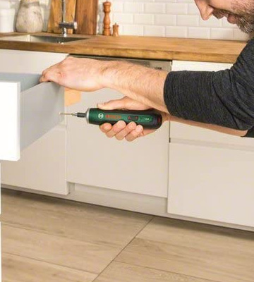 Review of Bosch PushDrive Cordless Screwdriver