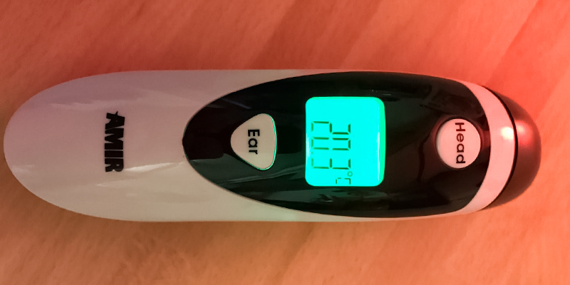 Detailed review of Amir Dual Mode Forehead and Ear Thermometer