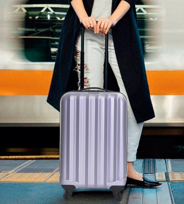 Review of Karabar Monaco Cabin Approved Hard Suitcase (Silver)