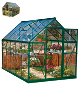 Palram Harmony 6x10 ft Greenhouse