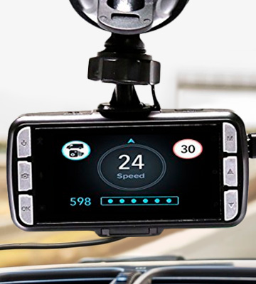Review of DriveSmart Pro HD GPS Fixed & Mobile Speed Camera Detector
