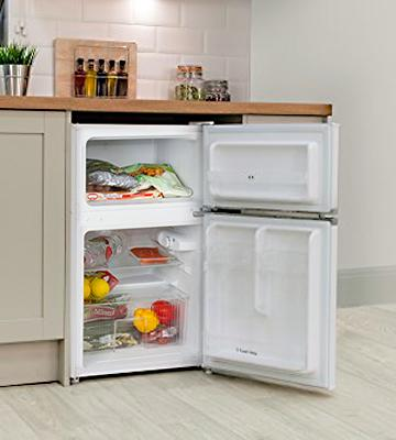Review of Igenix IG347FF Under Counter Fridge Freezer, 96L