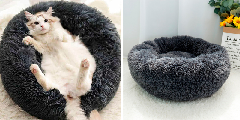 Review of Muswanna Plush Donut Pet Bed