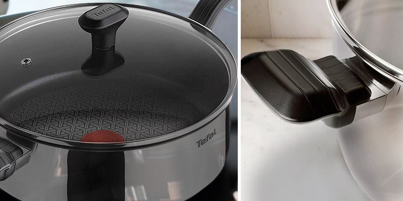 Review of Tefal Comfort Max, 26 cm Stainless Steel Non-stick Saute Pan and Lid