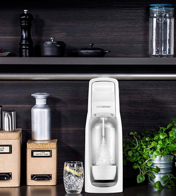 Review of SodaStream Jet Drinksmaker Sparkling Water Maker