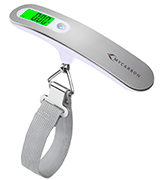 MYCARBON DS2 50kg Portable Digital Luggage Scale with Backlit and Tare Function
