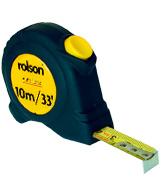 Rolson Tools 50569 Tape Measure, 10m