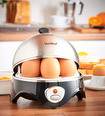 Review of VonShef 07/034 Egg Boiler, Poacher and Omelette Maker