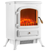 VonHaus 14/025 Freestanding Electric Fireplace Stove