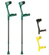 Ossenberg Classic Carbon Fibre Coloured Crutches