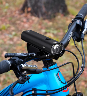 Review of TEMINICE USB Rechargeable Bike Light Set
