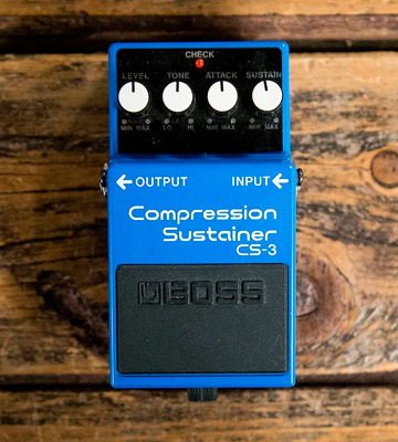 Review of BOSS AUDIO CS-3 Compressor/Sustain Pedal