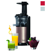 Panasonic MJ-L500NXC Slow Juicer with Frozen Attachment, 150 W, Gold