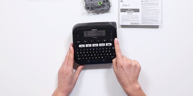 Review of Brother P-Touch (PT-D210) QWERTY Label Maker