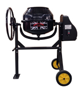 Dirty Pro Tools Professional Cement Mixer 80l With Stand And Wheels 240V 350W Portable
