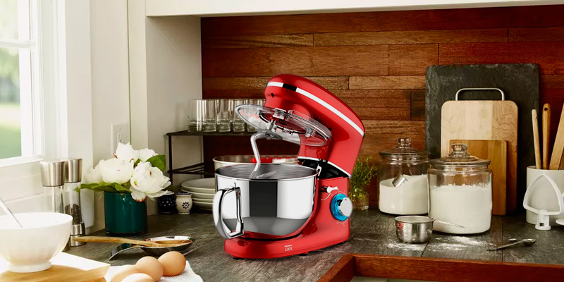 Heska 1500W 4-in-1 Food Stand Mixer in the use