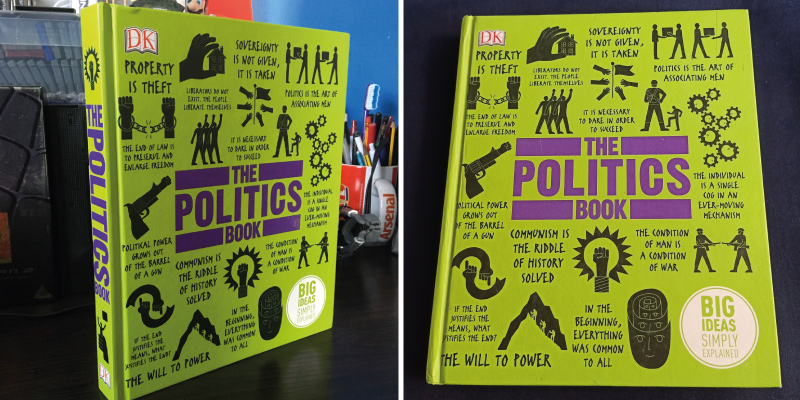 Review of DK The Politics Book Hardcover