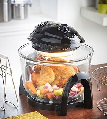 Review of VonShef Mini Halogen Air Fryer Oven