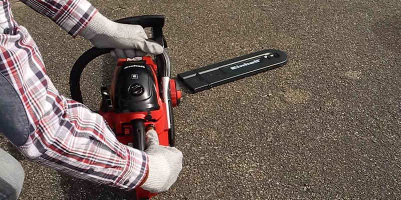 Einhell GC-PC 1335 TC Petrol Chainsaw, 41 cc in the use