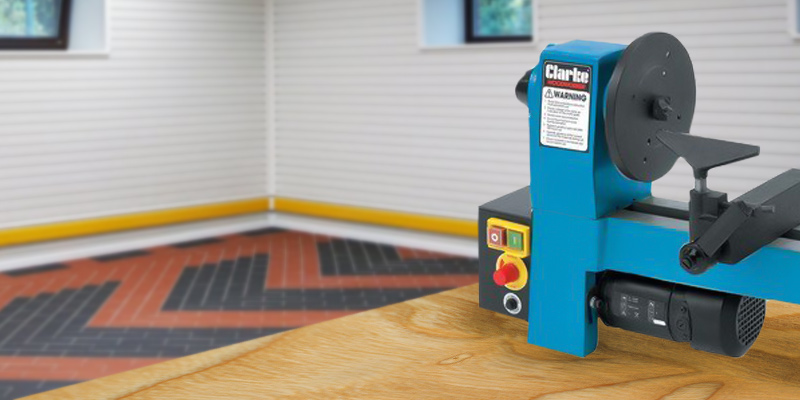 Review of Clarke Variable speed Mini Wood Lathe
