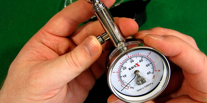 Review of RACE X RX0014 Tyre Pressure Gauge