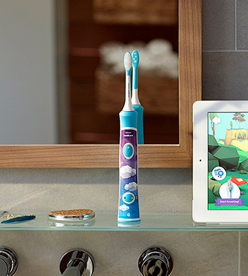 Review of Philips HX6322/04 Sonicare Bluetooth Toothbrush for Kids