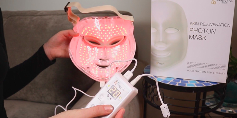 Review of BEAUTY STAR 3 Color Photon Therapy Red Light Treatment