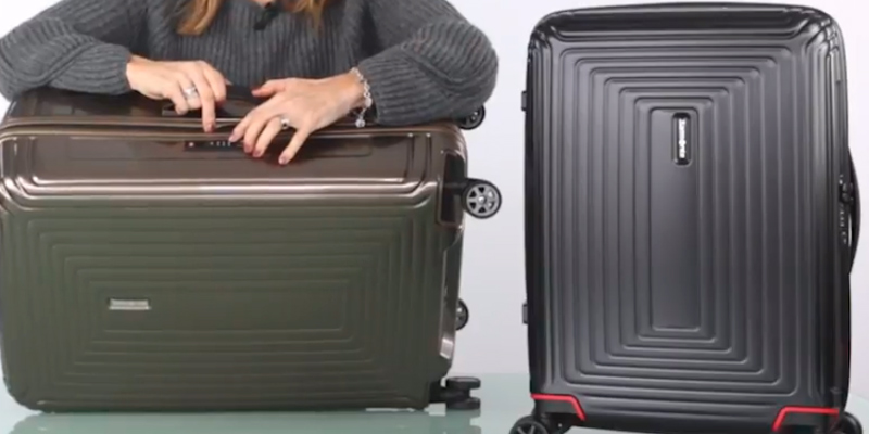 Review of Samsonite Neopulse Suitcase 4 Wheel Spinner