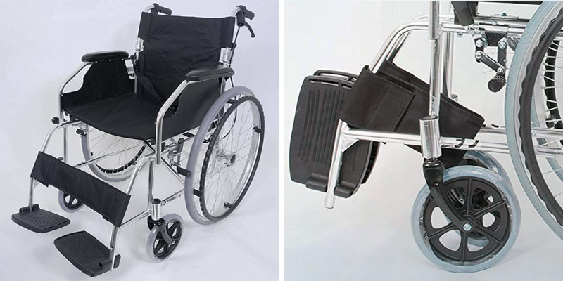 Review of Angel Mobility AMW1863SP Ultra lightweight Folding Wheelchair