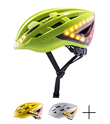 Lumos Smart LED Bike Helmet with Wireless Turn Signal Handlebar Remote and Built-In Motion Sensor