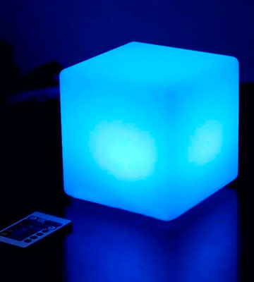 Review of Mr.Go IP65 Led Mood Light Cube