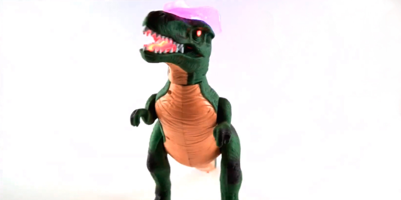 Review of TRT Green Remote Control Dinosaur