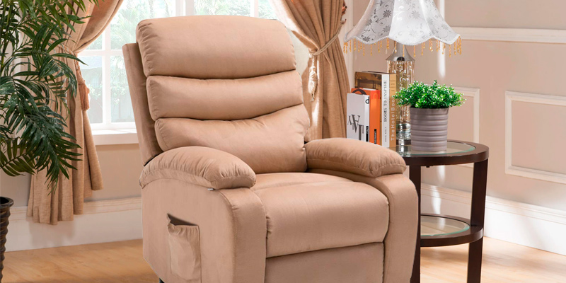 Review of Homegear Microfibre Power Lift Electric Recliner Chair w/Massage, Heat