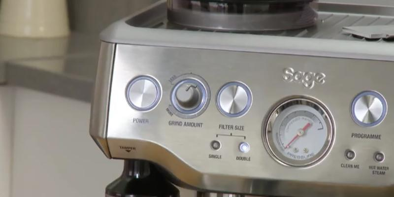 Detailed review of Sage by Heston Blumenthal BES870UK Barista Express Espresso Machine
