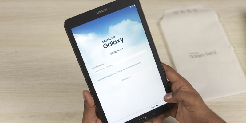 Review of Samsung Galaxy Tab E (SM-T560) 9.6 Inch Tablet
