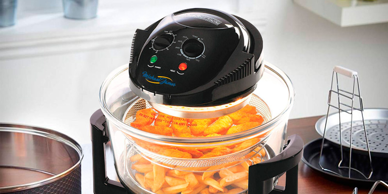 Review of Michael James Direct MJACH12B Convection Halogen Oven