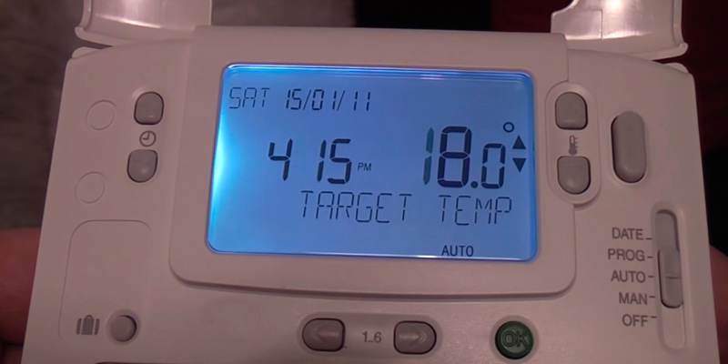 Review of Honeywell CMT927A1049 Wireless Programmable Thermostat