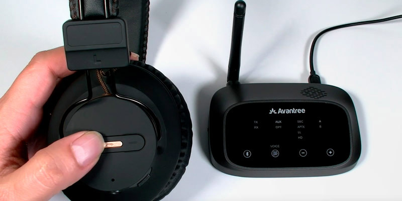 Review of Avantree HT5009 Wireless Headphones for TV Watching w/Bluetooth Transmitter