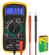 ULTRICS FBA0021YB Digital LCD Multimeter