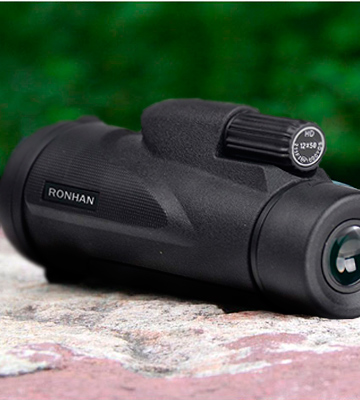 Review of RONHAN 12x50 High Powered Monocular with Quick Smartphone Adapter and Tripod