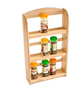 Apollo RB 3-Tier 15 Jars Spice Rack