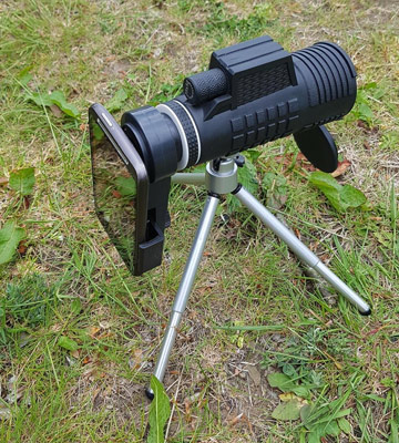 Review of SGODDE 10x52 Portable HD Spotting Scope with Hand Strap/Tripod