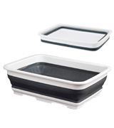 Beldray LA030191GRY Collapsible Rectangular Washing Bowl